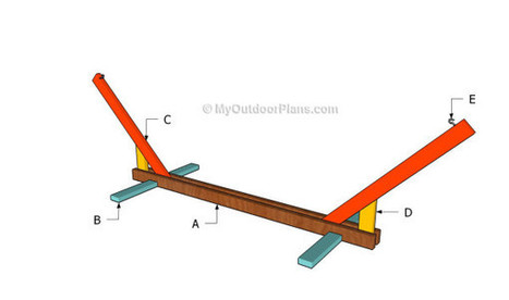 Hammock Stand Plans | Free Outdoor Plans - DIY Shed, Wooden Playhouse, Bbq, Woodworking Projects | Jager Foods | Scoop.it