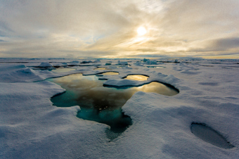 Climate: Arctic ice melting from 'the inside-out' | Climate Chaos News | Scoop.it