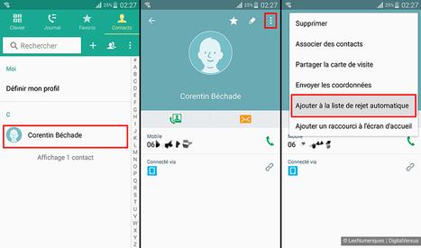 Comment bloquer un numéro sur mobile | Geeks | Scoop.it