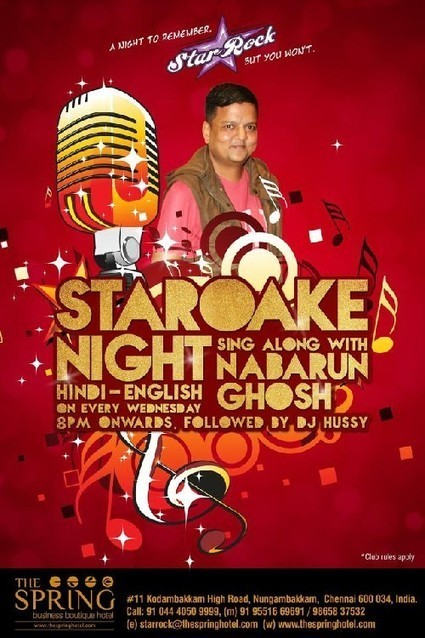 """""""STAROAKE"""" Night Every Wednesday only At STAR ROCK from 8pm Onwards. 