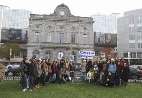 Los Erasmus protestan en varias ciudades europeas por los recortes educativos de Wert - 20minutos.es | Educación Pública de todos y para todos | Scoop.it