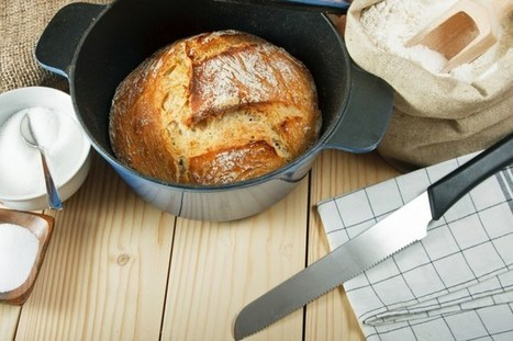 Ricetta pane senza impasto cotto in pentola - Non sprecare | Alimentazione Naturale, EcoRicette Veg e Vegan | Scoop.it