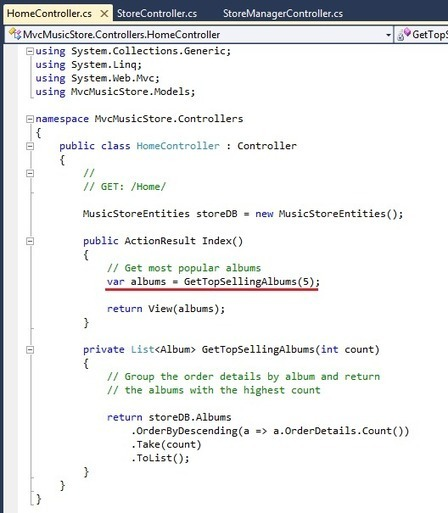 Improving ASP.NET MVC MUSIC STORE more usability with DotNetAge in 30 minutes - CodeProject   Development Web   Scoop.it