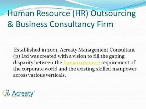 HR Outsourcing & Business Consultancy Firm -PPT Presentation   Management Consultant   Scoop.it