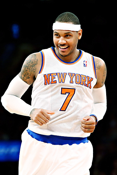Carmelo Anthony's on his way to first scoring title as Knicks win streak hits 12 | NCAA hoops | Scoop.it