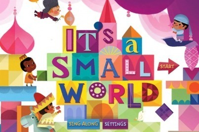 "Disney's ""It's a Small World"" Interactive iOS App [Review} 