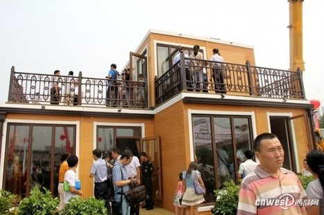 Chinese company assembles 3D-printed home in 3 hours | Today, I learned | Scoop.it