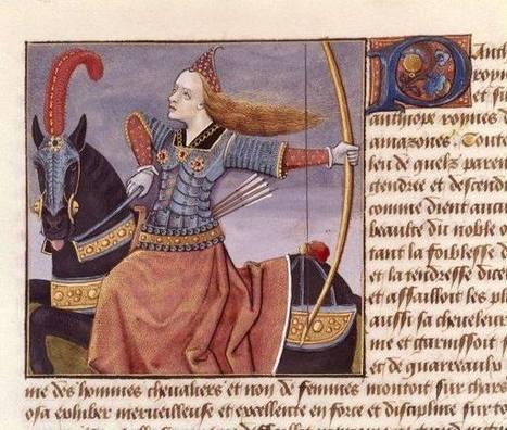 Femmes-chevaliers au Moyen Âge | L'actu culturelle | Scoop.it
