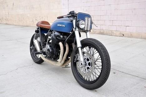 1972 Honda CB750 / Seaweed & Gravel   Smotra-moto.ru   Scoop.it