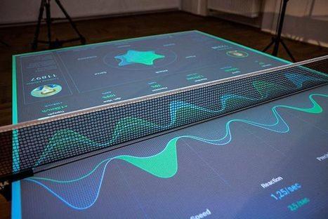 Table Tennis Trainer : le matériel pour coach   Chasseurs de cool   IDEES BUSINESS   Scoop.it