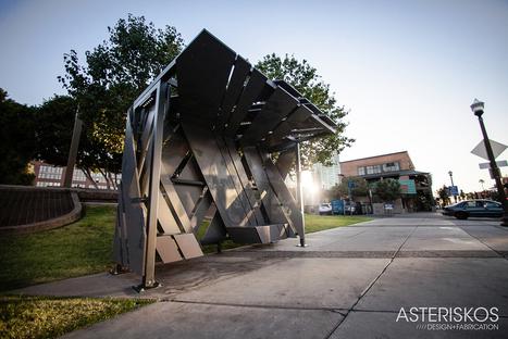 Memorial Transit Shelter | parametric design | Scoop.it