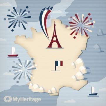 MyHeritage vous souhaite un bon 14 juillet ! | Rhit Genealogie | Scoop.it