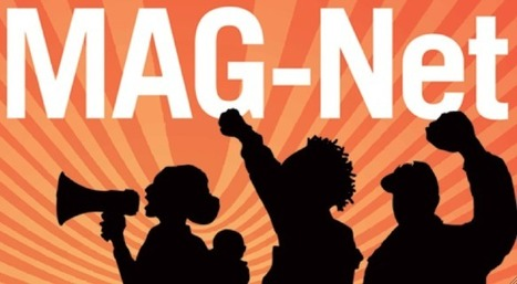 """Listen to the August MAG-Net Digital Dialogue Podcast """"The Art of Creative Resistance for Racial Justice"""" 