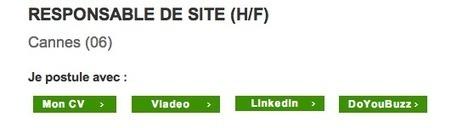 Chez Expectra, les candidats peuvent postuler en 1 clic avec Viadeo, Linkedin et Doyoubuzz ! - | Emploi et ressources humaines | Scoop.it