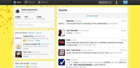 Twitter Launches Redesign, Tells Users '#letsfly' | Social Media News and Info | Scoop.it