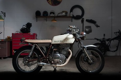 """Yamaha XS360 Custom - """"Lupo di Mare"""" 