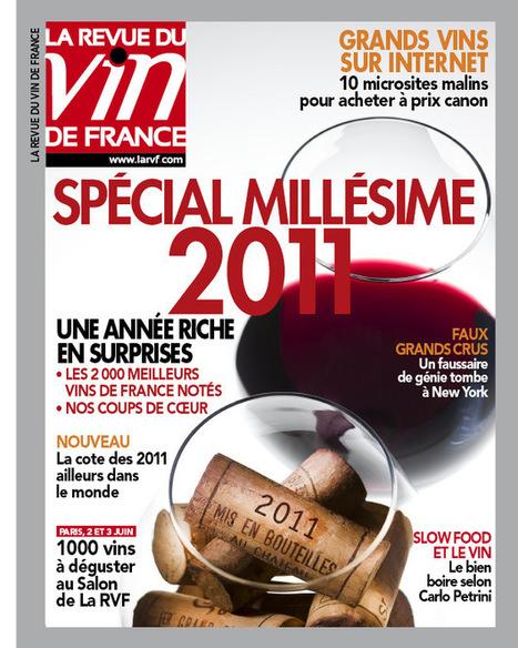 La Revue du Vin de France : Nouvelle version de son site Internet   Cavissima - Actualité vin   Scoop.it