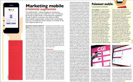 Dossier marketing mobile dans le magazine point de vente. | M-CRM & Mobile to store | Scoop.it