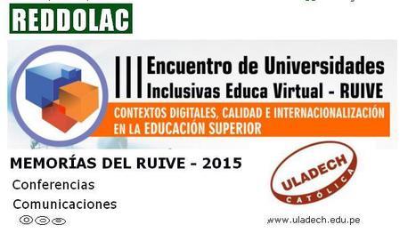 Memorias del RUIVE-2015   Aprendiendo TIC y Educación-Learning every day TIC and Education   Scoop.it