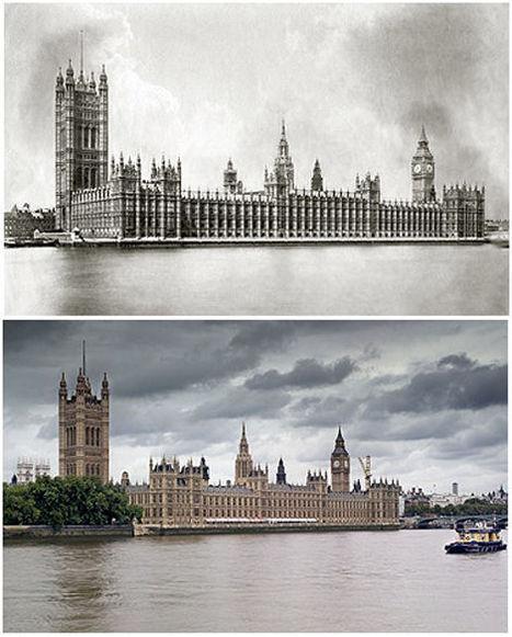 Londres...hier et aujourd'hui | Auprès de nos Racines - Généalogie | Scoop.it