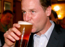 Nick Clegg Just Bet Six Pints Of Beer On Getting More MPs Than Ukip | British-Pubs Newsletter | Scoop.it