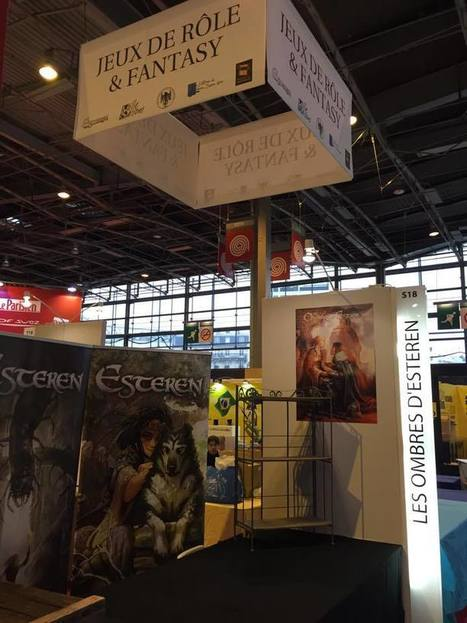 Esteren : Esteren au Salon du Livre de Paris ! | Jeux de Rôle | Scoop.it