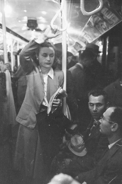 1946 New York Subway Photographed By 17-Year-Old Stanley Kubrick | black & white and street photography | Scoop.it