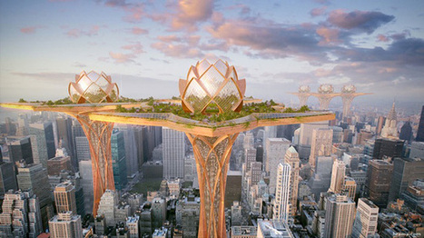 Des jardins suspendus au dessus des gratte-ciels | Peut-on réduire le stress en même temps que l'artificialisation des villes augmente ? | Scoop.it