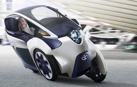 Toyota i-ROAD concept revives the three-wheel microcar | Autos, innovación y tecnología | Scoop.it