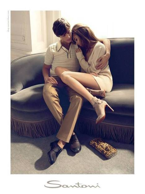 Santoni Footwear Campaign S/S 2014 by Camilla Akrans | Le Marche & Fashion | Scoop.it