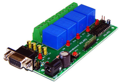 Serial Relay board for your projects. - iknowvations.in | iknowvations | Scoop.it
