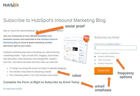 How to Convert Casual Blog Visitors Into Dedicated Subscribers | Beyond Marketing | Scoop.it