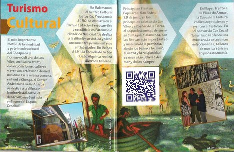 Lanzan Primera Revista de Turismo con realidad Aumentada de Chile | REALIDAD AUMENTADA Y ENSEÑANZA 3.0 - AUGMENTED REALITY AND TEACHING 3.0 | Scoop.it