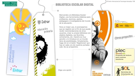Biblioteca Escolar Digital   WEBS Y BLOGS SOBRE LIJ Y BIBLIOTECAS ESCOLARES   Scoop.it