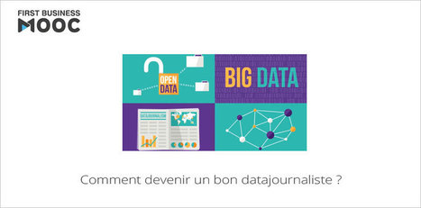 MOOC Comment devenir un bon datajournaliste... 2e session aujourd'hui ! | Emploi - formation | Scoop.it