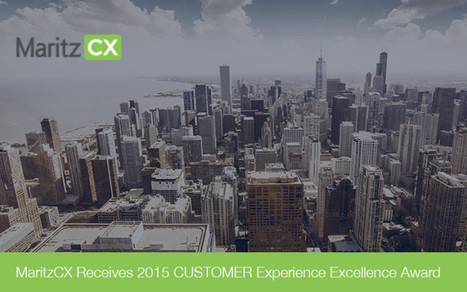 MaritzCX Receives 2015 CUSTOMER Experience Excellence Award - Market Research Bulletin   Research Topics   Scoop.it
