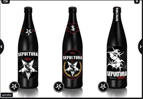 SEPULTURA lanza una nueva cerveza para celebrar sus 25 años al ruedo | Cervejas - Material Complementar | Scoop.it