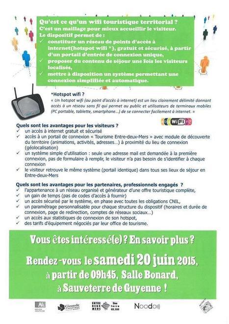 Lancement officiel du wifi territorial de l'Entre-deux-Mers ! | Actu Réseau MOPA | Scoop.it