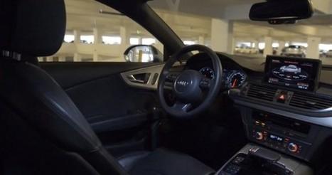 Audi connect auto pilot : une voiture qui se gare vraiment toute seule   Actinnovation©   News Tech Algérie   Scoop.it