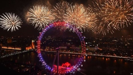Huge UK crowds welcome in new year | Street Events | Scoop.it