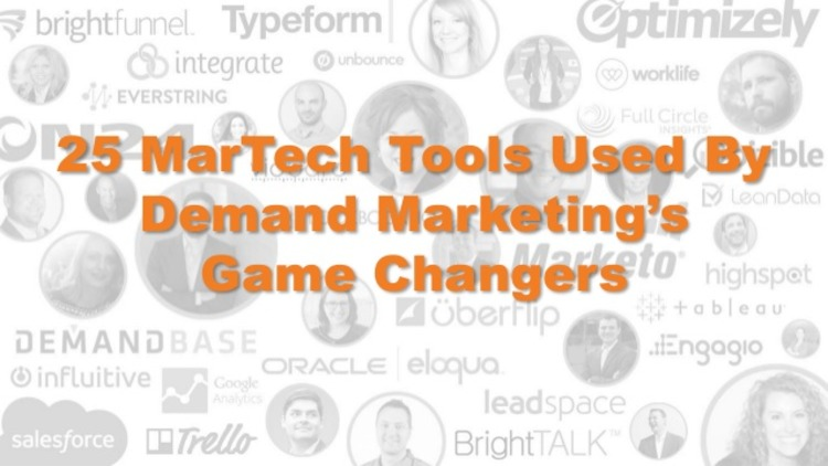 8 Types of MarTech Tools Every Demand Marketer Needs - Integrate | The MarTech Digest | Scoop.it