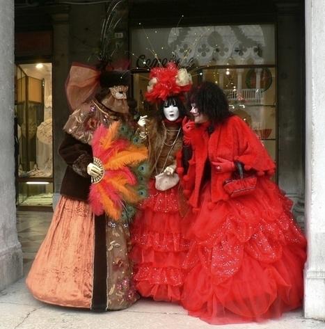 LES COSTUMES DU CARNAVAL DE VENISE 2013 - Chansons ... | déguisement pour carnaval | Scoop.it