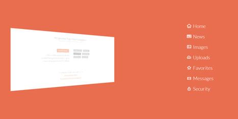 Tendance web : Les menus animés en slide inspiration et tutoriels | Info-web | Scoop.it