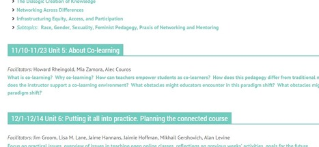 Connected Courses: Active co-learning in Higher Education | ID, E-learning & Social Media | Scoop.it