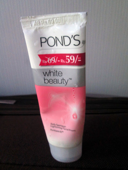 PONDS White Beauty Face Wash Review | Makeup Reviews Hall - Indian Makeup and Beauty Reviews Blog | Makeup and Beauty Reviews in Makeup Reviews Hall | Scoop.it