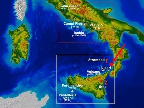Scoperto un nuovo vulcano italiano | vulcani | Scoop.it