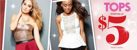 Tops Weekly Deals, Discount Tops, Discount Dressy Tops, Discount Trend: Charlotte Russe   lovely   Scoop.it