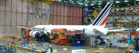 Air France's first Boeing 787 leaves the hangars! : Air France - Corporate | Aviation & Airliners | Scoop.it
