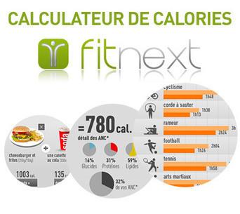 Calculateur de calories Fitnext | le monde de la e-santé | Scoop.it