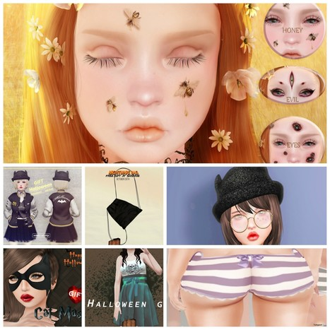 Many Halloween Group Gifts At SaNaRae by Several Designers | Teleport Hub - Second Life Freebies | Second Life Freebies | Scoop.it